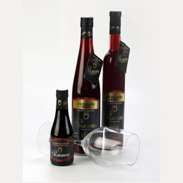 Воћна вина Романса – Амбалажа